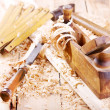 Old wooden plane — Stock Photo #51467601