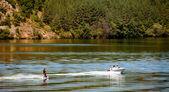 Vodní lyže — Stock fotografie