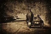 复古摩托车 — 图库照片