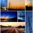 Stock Photo: Low light industrial images