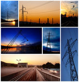 Low light industrial images — Stock Photo