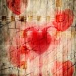 Vintage love textured background — Stock Photo