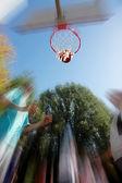 Bulanık sokak topu — Stok fotoğraf