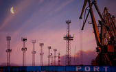 Port of Burgas — Foto Stock