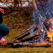 Camp fire — Stock Photo #22149293