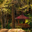 Stock Photo: Forest cabin