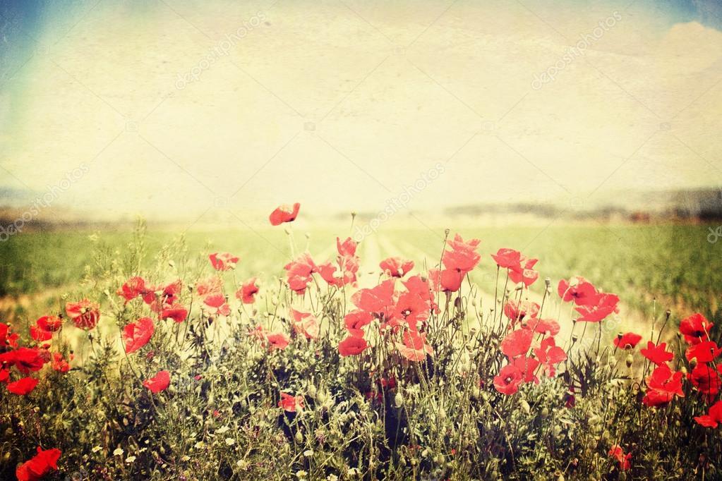 Art de la fleur vintage