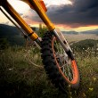 Stock Photo: dirt bike