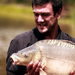 Carp fishing  — Stock Photo