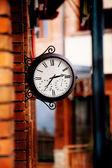 Straat klok — Stockfoto