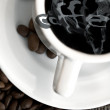 Coffee poster — Stock Photo