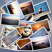 Vacantion collage — Stock Photo