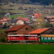 Bulgarian old train — Stock Photo #43895601