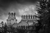 Bw sofia landscape  — Stock Photo