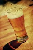 Vintage beer  — Stock Photo