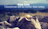 Keep calm concceptual background  — Stock Photo