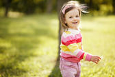 Little beautiful girl portrait — Stock Photo