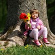 Royalty-Free Stock Photo: Little sweet girl with flowers