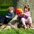 Date in park — Stock Photo #22084291