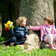 Date in park — Stock Photo #22084335