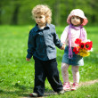 Date in park — Stock Photo #22084597