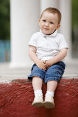 Cute little boy portrait — Stock Photo