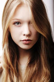 Beautiful teen girl portrait — Stock Photo