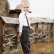 Little cute boy portirat — Foto Stock