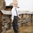 Little cute boy portirat — Stock Photo
