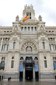 Madrid post office — ストック写真