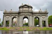 Madrid arch — Stock Photo