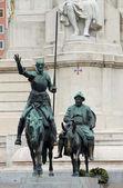 Cervantes monument — Stockfoto