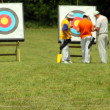 Archery range - Stock Photo