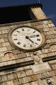 Ancient clock tower — Stock Photo