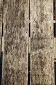 Old wooden fence — Foto de Stock