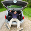 Car packing — Stock Photo