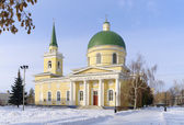 Cossack Cathedral.Omsk.Russia — Stock Photo