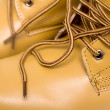 Stock Photo: Laces on brown boots