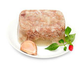 Jellied meat — Stock Photo
