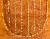 Genuine leather product — Stock Photo