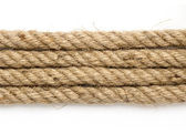 Detailní záběr části lana — Stock fotografie