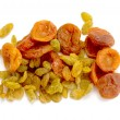 Dried raisins and dried apricots - Foto de Stock  