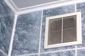 Vent in the bathroom — Stock Photo