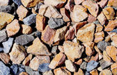 Stone gravel background — Stock Photo