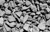Ballast stone gravel — Stock Photo