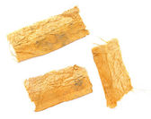 Piece of gold cloth — Stock Photo