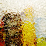 Glass shards — Stock Photo