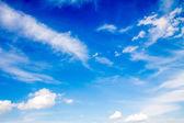 青い空雲 — ストック写真