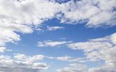 Blue sky clouds — Stockfoto
