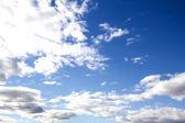 Blue sky clouds — Stockfoto